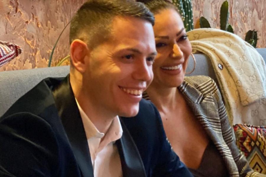 Srećna i nasmejana: Ceca na krsnoj slavi Bogdanove porodice u Kragujevcu (video)