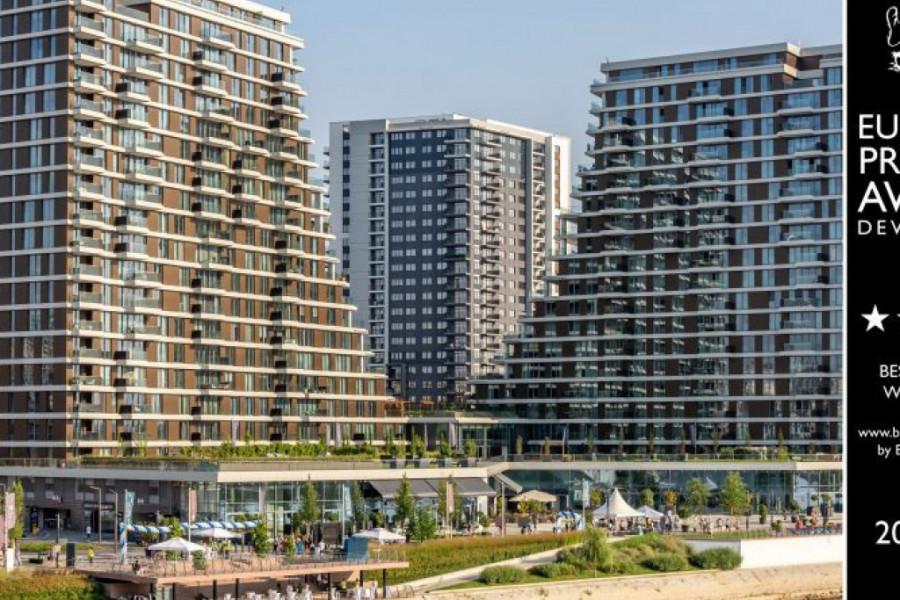 Vebsajt Belgrade Waterfront-a osvojio prestižnu nagradu The European Property Award
