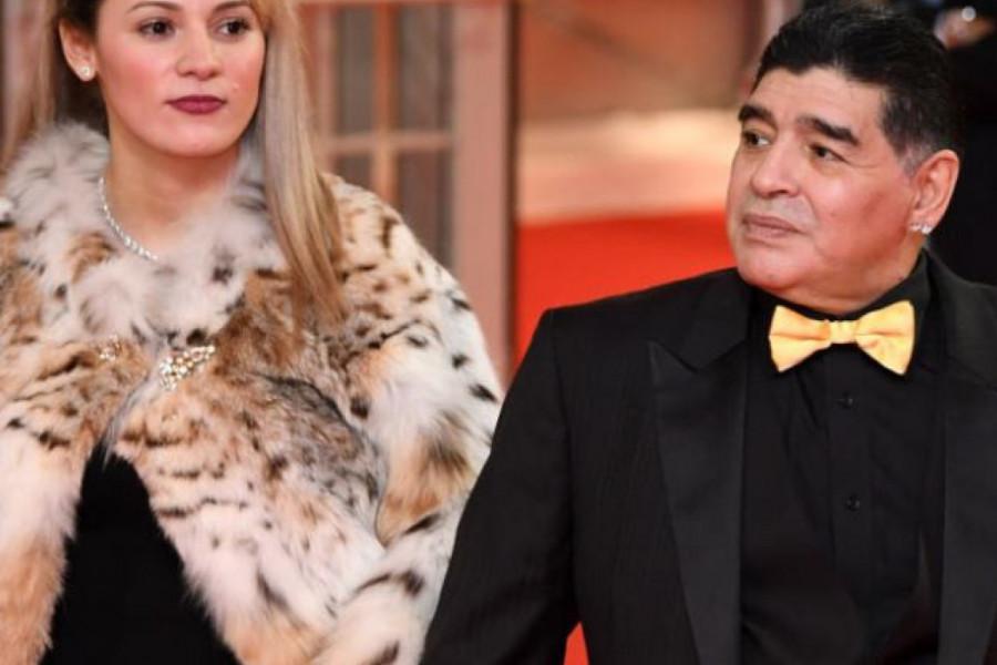 Nije mogla da zadrži suze: Poslednjoj ljubavi Dijega Maradone zabranili da prisustvuje sahrani