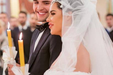 Veljko i Bogdana slave prvu godišnjicu braka, iznenađenje stiglo već u ponoć