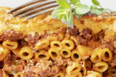 Pastitzio - grčko jelo koje ćete već danas praviti