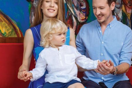 Princeza Danica ponosna: Stefan je izrastao u bistrog dečaka