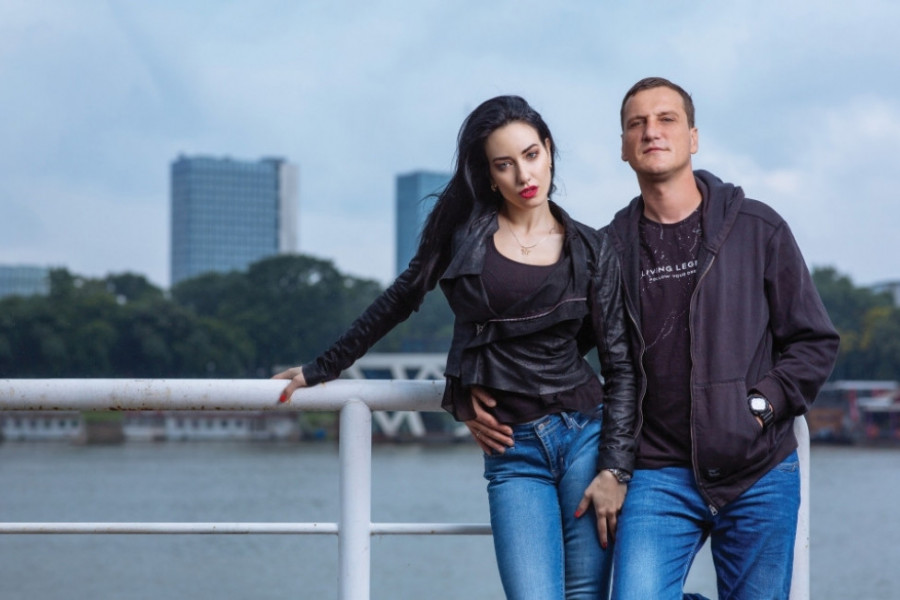 Nenad Heraković i Tara Toševski: Ljubav na prvi pogled