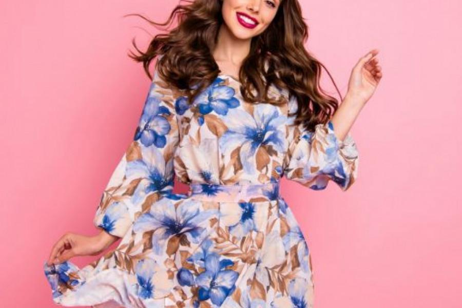 Haljine cvetnog dezena: Unesite boje proleća u svoj garderober