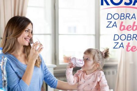 Rosa voda dokazano dobra za bebe