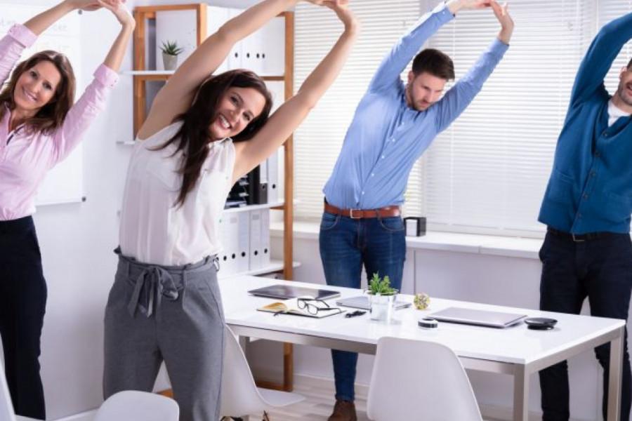 Vežbajte i dok ste na poslu