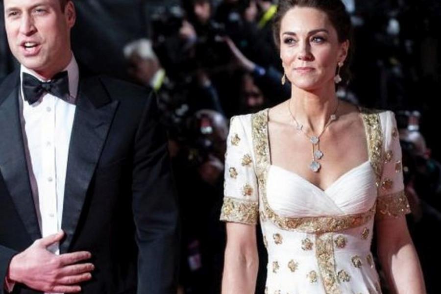 Iako je obuka već viđenu haljinu, vojvotkinja Kejt Midlton blistala na BAFTA dodeli nagrada