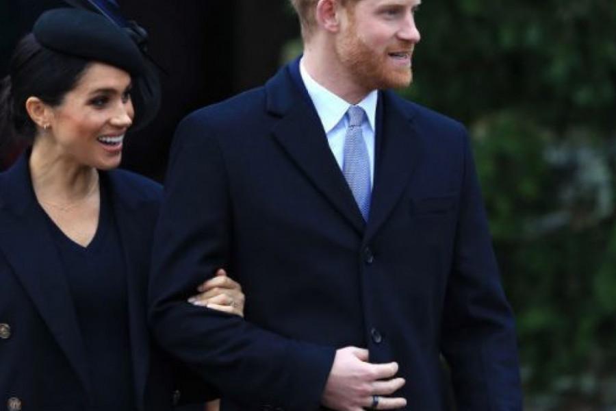 Megan i Hari imaju najlepšu novogodišnju čestitku
