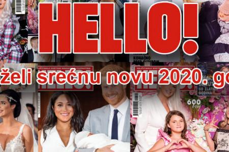 Magazin Hello! vam želi srećnu 2020. godinu!