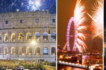 Gradovi koji najviše i najlepše sijaju za doček Nove godine