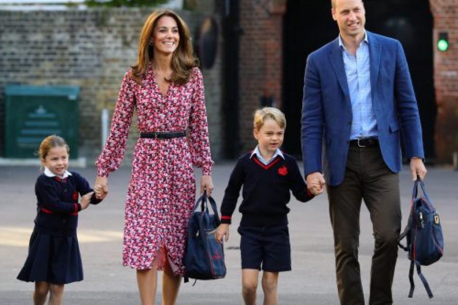 Kako su princ Vilijam i vojvotkinja Kejt reagovali zbog šale na račun princeze Šarlot