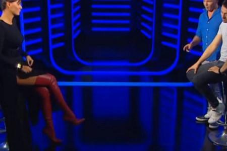 Danijel Kajmakoski od pogleda na noge Marije Kilibarde izgubio dah! (video)