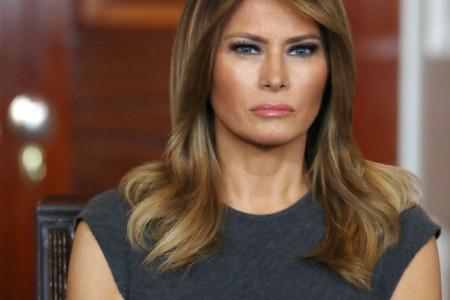 Umeće Melanije Tramp: I obična haljina na prvoj dami izgleda spektakularno (foto)