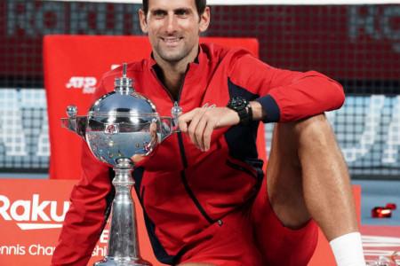 Novak Đoković osvojio turnir u Tokiju: Ovo je njegov 76. ATP trofej u karijeri!