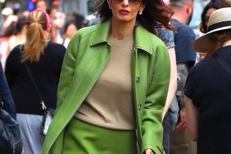 Amal Kluni ukrala svu pažnju na ulicama Njujorka: Ovo je savršen poslovni stajling!
