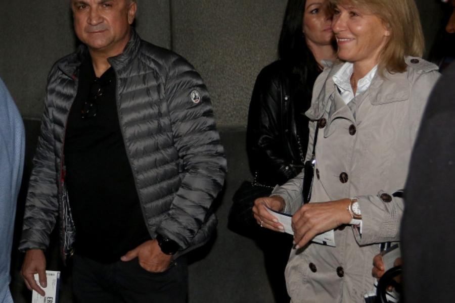 Srđan i Dijana Đoković uživali na koncertu Erosa Ramacotija (foto/video)