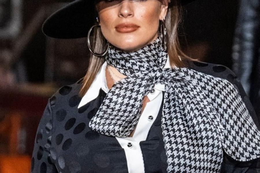 Ešli Grejem i trudna pokorava modne piste Njujorka! (video)