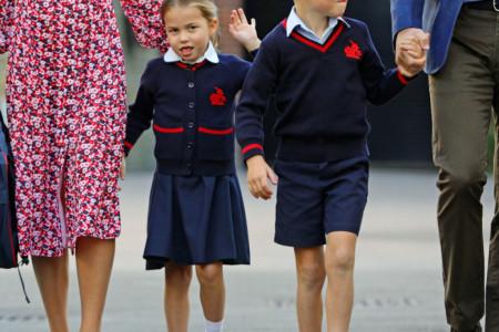 Da li najnovija fotografija princeze Šarlot i princa Džordža najavljuje nevolje za učitelje? (video)
