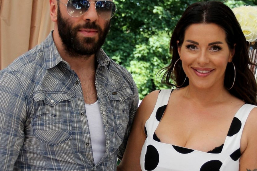 Trudna Seka Aleksić uživa na bazenu sa suprugom Veljkom (foto)