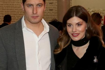 Tamara Dragičević i Petar Benčina: Prva šetnja sa sinom (foto)