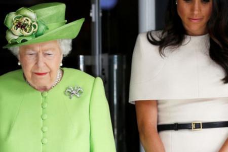 Kraljica Elizabeta oštra: Megan u svom domu može da radi šta hoće, ali ne i u palati! (video)
