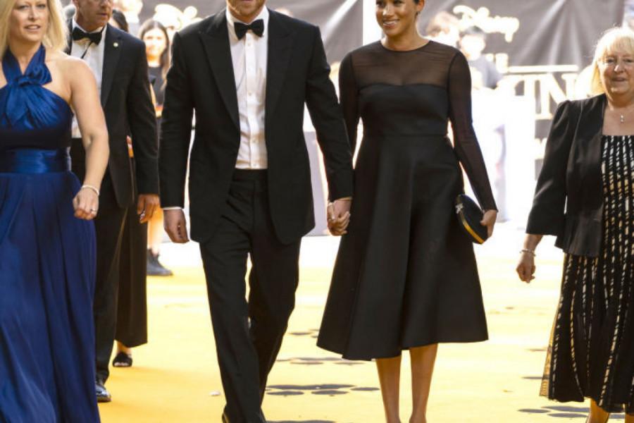 Megan Markl premijerno na crvenom tepihu: Elegancija u crnom i dijamanti za susret sa Bijonse (foto)