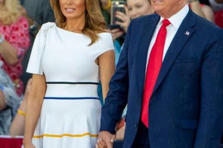 Melanija Tramp na meti kritika: Šta nije u redu sa savršenom haljinom prve dame