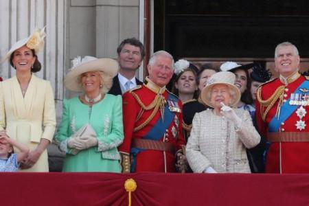 Svečanost na britanskom dvoru: Počasni vojni plotuni u čast slavljenika