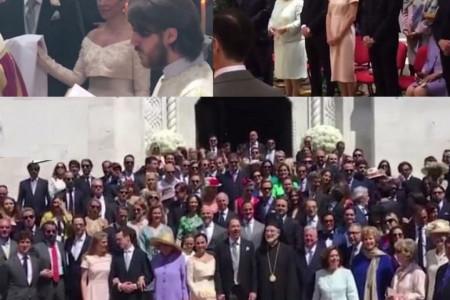 """Kraljevsko venčanje na Oplencu: Princ Dušan Karađorđević i Valerija de Muzio izgovorili sudbonosno """"da"""""""