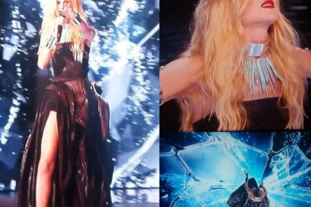 Nevena Božović samouverenim nastupom oduševila u finalu Evrovizije