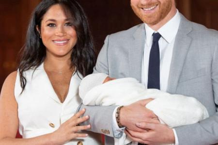 Megan Markl i princ Hari ponosno pokazali svetu svog naslednika! (foto/video)