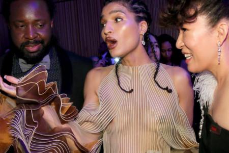 """Modna rapsodija u Njujorku: Indija Mur u šokantnoj haljini na glamuroznom partiju """"Time 100 Gala"""""""