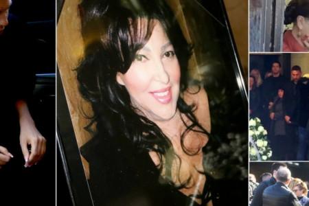 Divna Karleuša sahranjena, Jelena slomljena ljubila majčin kovčeg (foto/video)