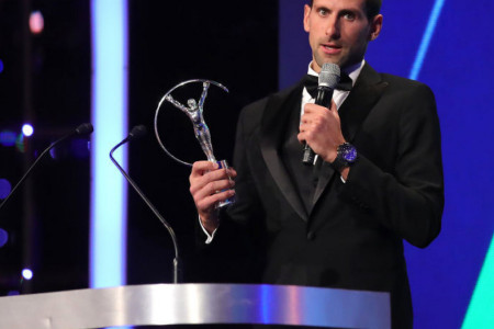 Novak Đoković je izabran za najboljeg sportistu sveta za 2018. godinu! (video)