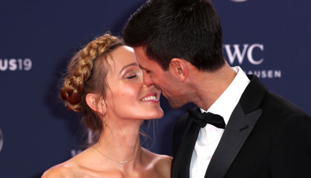 Novak i Jelena Đoković: Poljubac pred čitavim svetom u magičnom Monte Karlu (foto/video)