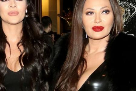 All black dame: Kad Ceca i Anastasija upare stajlinge (foto)