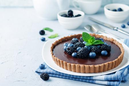 Lako da lakše ne može: Čokoladni tart bez pečenja