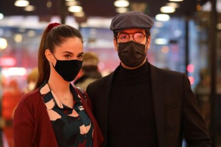 Da li je na ruci burma? Trudna Anja Alač i Andrej Josifovski prvi put zajedno u javnosti (foto)