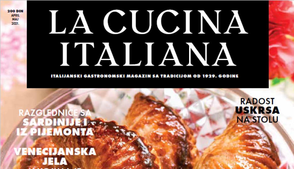 Novi broj kultnog gastronomskog magazina La Cucina Italiana u prodaji