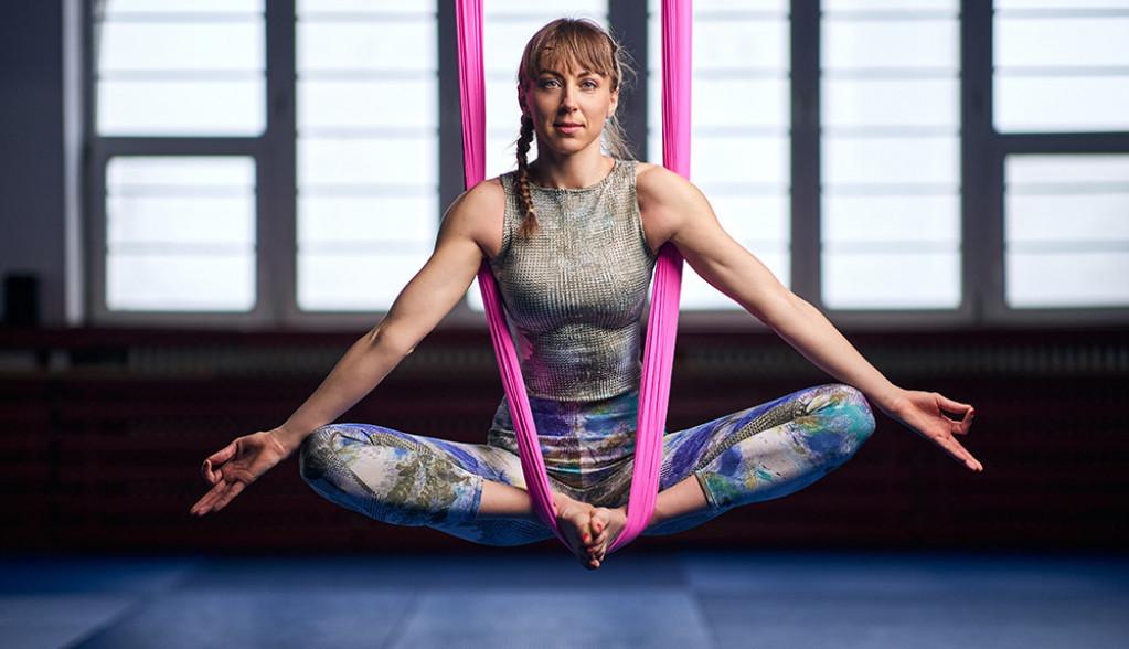 Aerial ili lebdeća joga - smanjuje depresiju, a povećava samopouzdanje