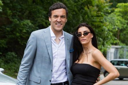 Da li je ovo najstilizovaniji par na venčanju Aleksandra Mitrovića: Vladimir i Valentina Stojković održali modnu lekciju
