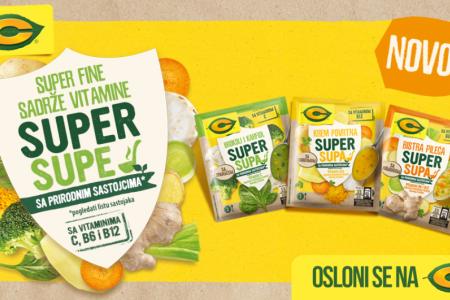 C Super Supe sa dodatkom vitamina
