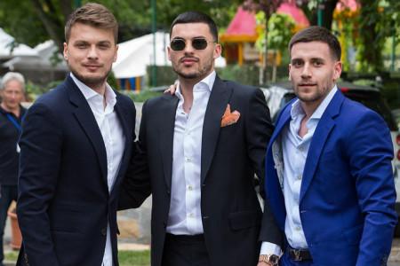 Muškarci sa stilom: Modni defile srpskih fudbalera oduševio pripadnice lepšeg pola (foto)