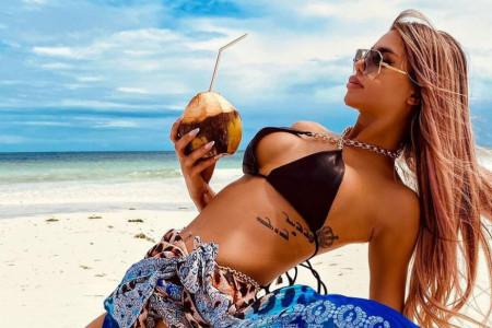 Uragan na Zanzibaru: Ivana Hurricane zapalila Instagram vrelim slikama u bikiniju