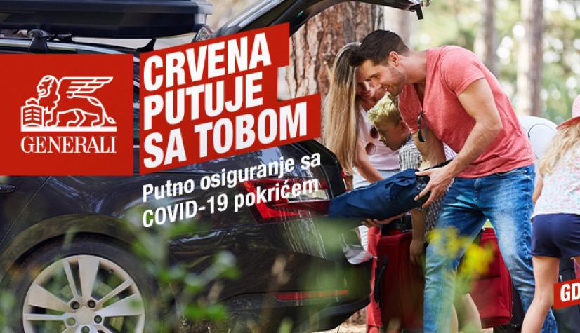 Generali Srbija: NOVO putno osiguranje sa pokrićem COVID-19