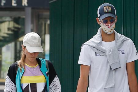 Novak i Jelena Đoković: Trijumfalna šetnja Parizom