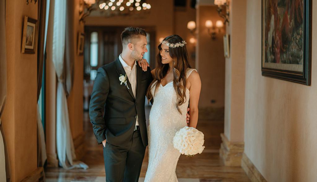 HELLO! donosi: Ekskluzivne fotografije sa venčanja Luke Adžića, beba samo što nije (foto)