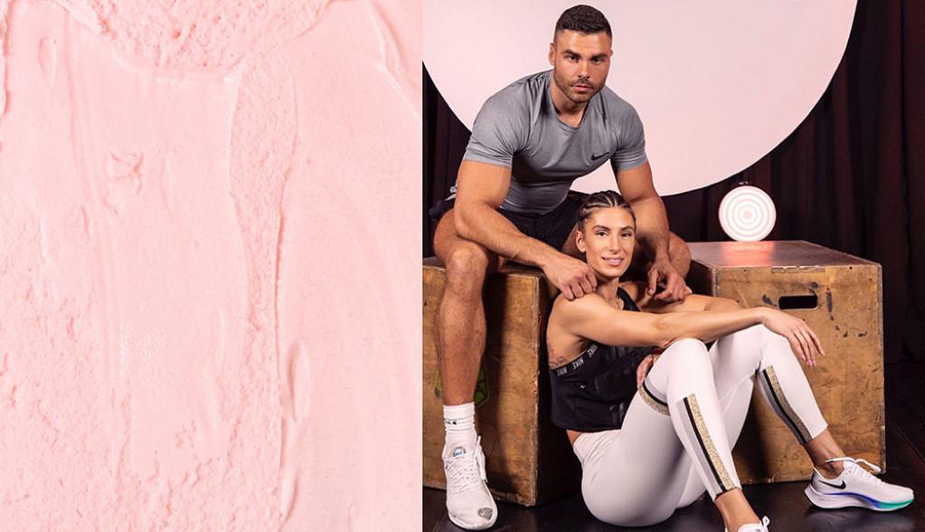 Ivana Španović ga obožava: Proteinski sladoled od jagode po receptu njenog zgodnog verenika Marka