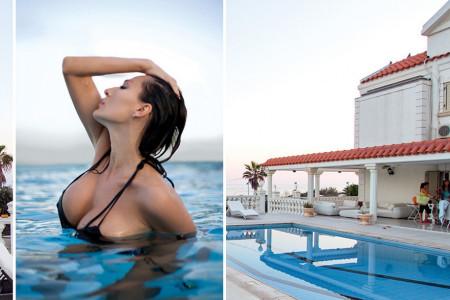 Privatni raj na Kipru: Vodimo vas u letnju rezidenciju Cece Ražnatović (foto)
