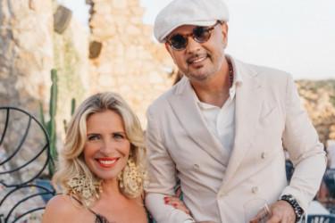 Romantična ceremonija na Sardiniji: Siniša i Arijana Mihajlović obnovili zavete na godišnjicu braka (foto)